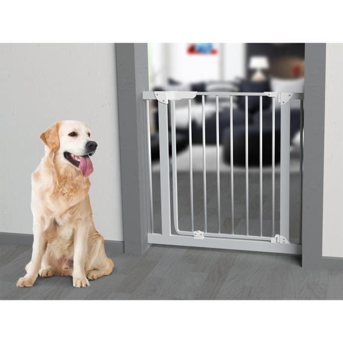 VADIGRAN Barriere Bob - H 76 cm - Blanc - Pour chiens et chats