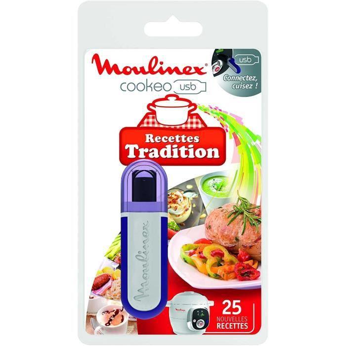 MOULINEX XA600211 Chiavetta USB tema Tradition per Cookeo