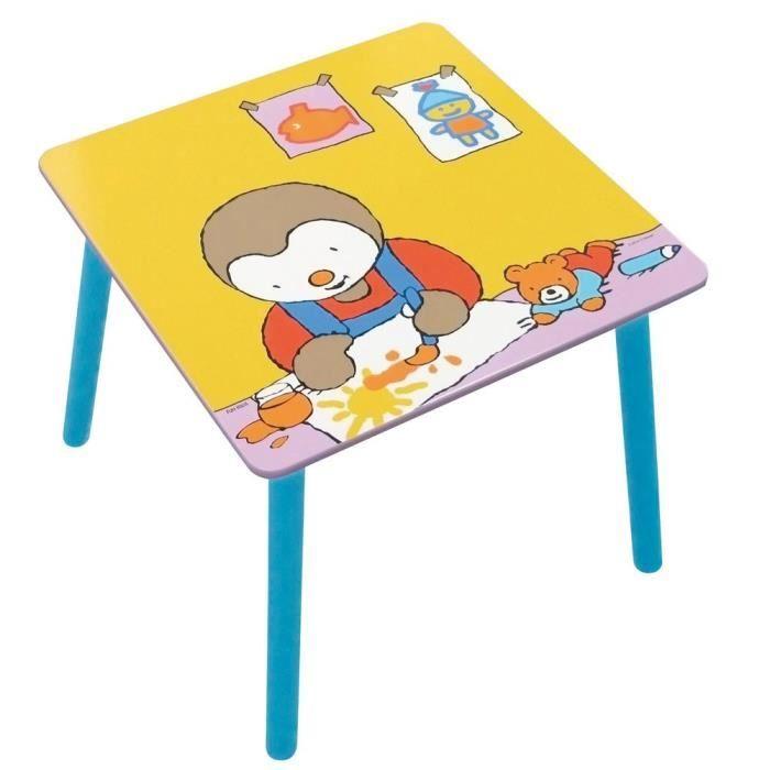Fun House T \ 'choupi tavolo quadrato per bambini