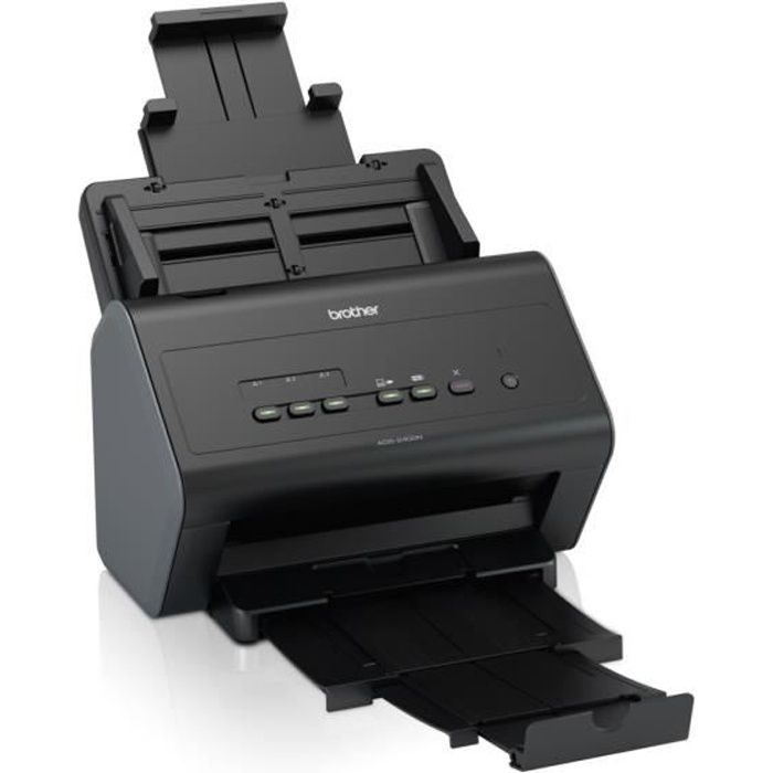 Scanner Brother di documenti ADS-2400N - USB 2.0 - Recto / Verso