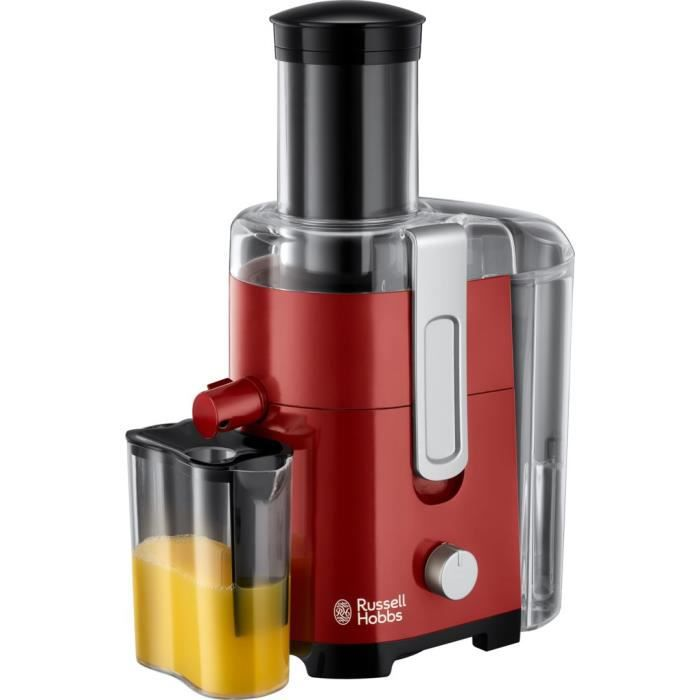 RUSSELL HOBBS 24740-56 Centrifuga serbatoio Desire 2L, 2 velocità, camino XL, succo di frutta o verdura ideale