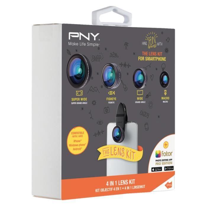 PNY la lente kit 4 a 1 Kit