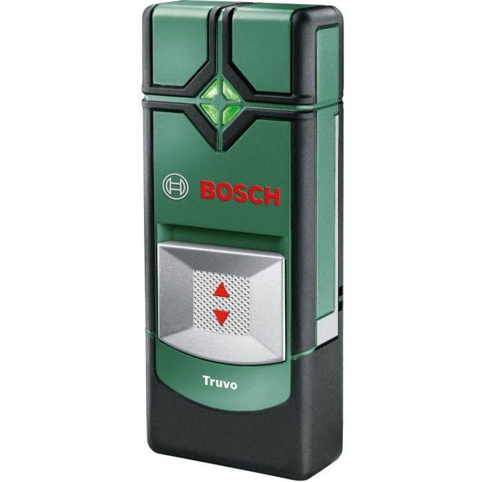 Besole000 - Rilevatore di materiale Truvo (fornito con 3 batterie AAA, profondità di rilevamento massima: 70 mm)