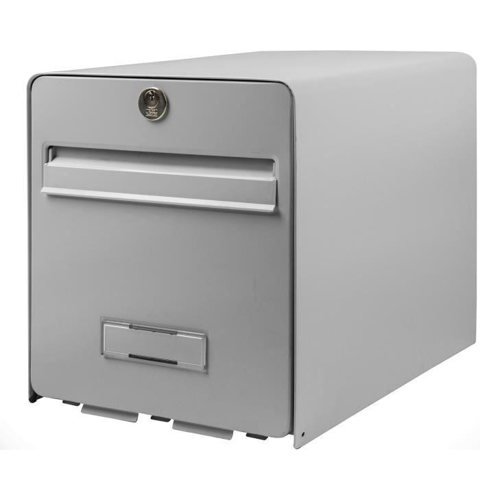 BURG WACHTER Cassetta delle lettere Bomboniera in acciaio zincato - 1 porta - Grigio