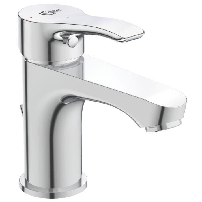 Miscelatore lavabo monocomando con colino - OGLIO - Cromo - Ideal Standard