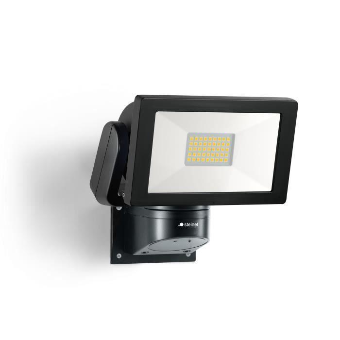 STEINEL Projecteur extérieur sans détecteur LS 300 LED 30W 4000K IP44 - Noir