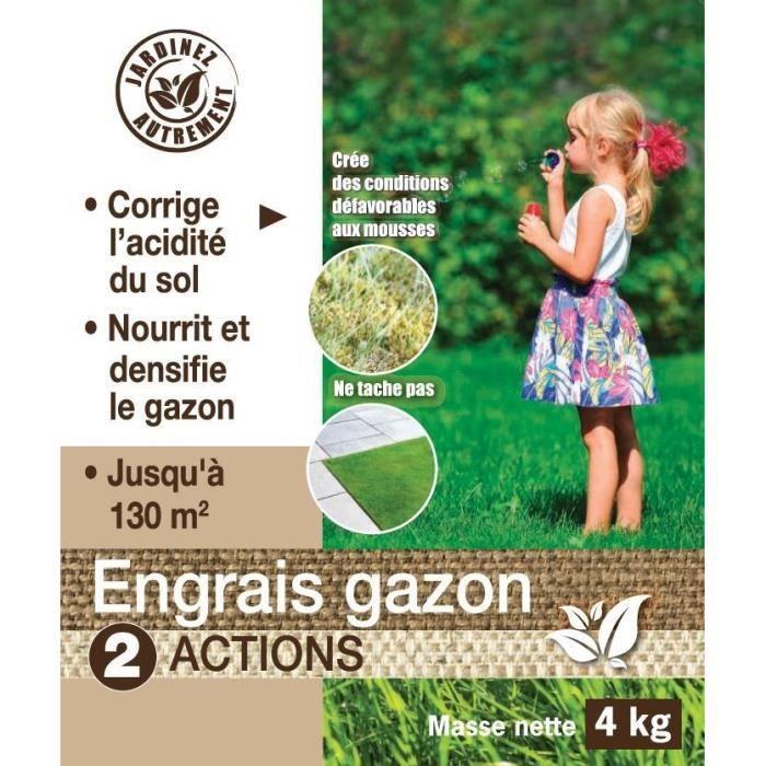 Fertilizzante per prato NONA 2 in 1 - 4 kg