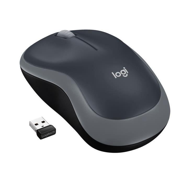 Mouse ottico senza fili Logitech - Grigio M185