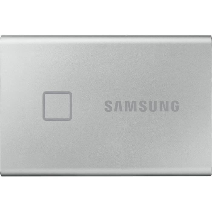 SAMSUNG SSD esterno T7 Touch USB tipo C colore argento 500 GB