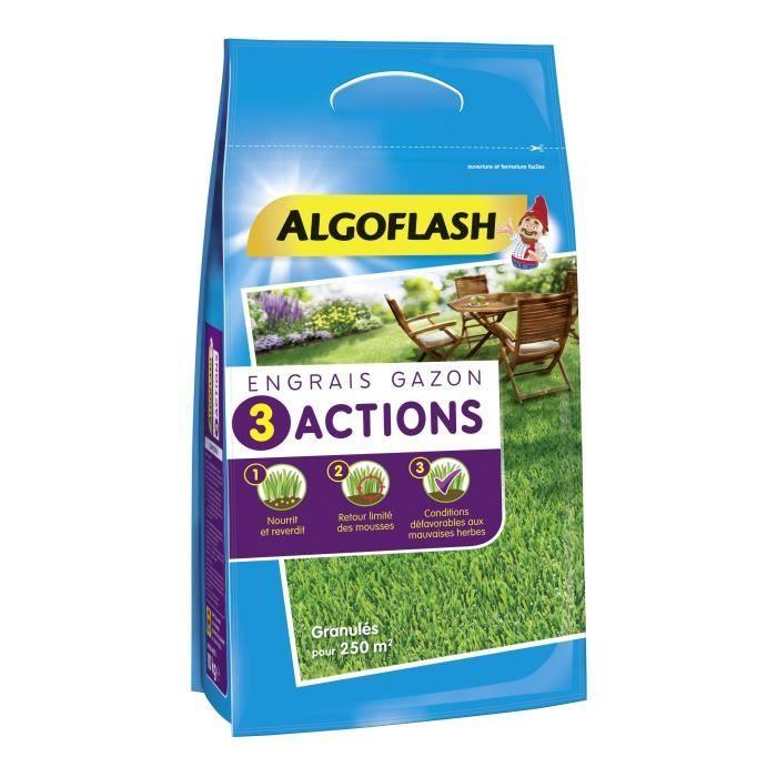 Besole000 Fertilizzante per prato 3 azioni - 10 kg