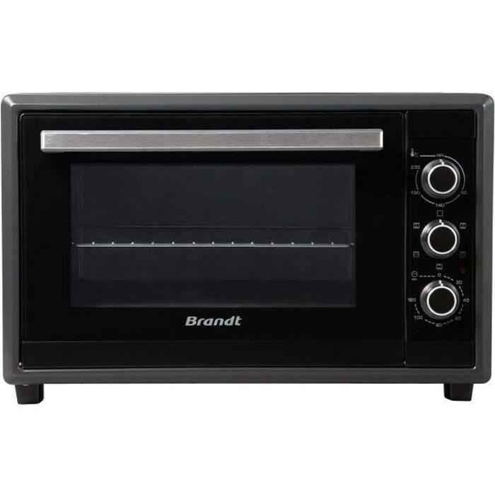 BRANDT FC350MUB Mini forno - Grill - 35 L - 1500 W - Libera Installazione