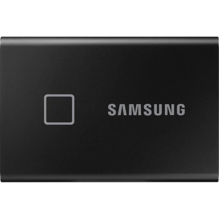 SSD esterno SAMSUNG T7 Touch USB tipo C colore nero 500 GB