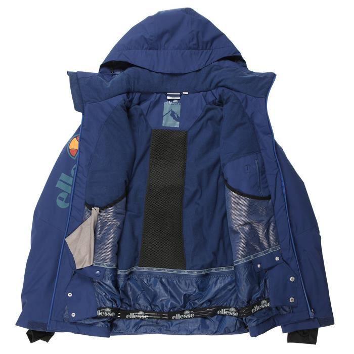 ELLESSE Blouson veste de ski STELVIO STRETCH JKT - Homme - Bleu Marine