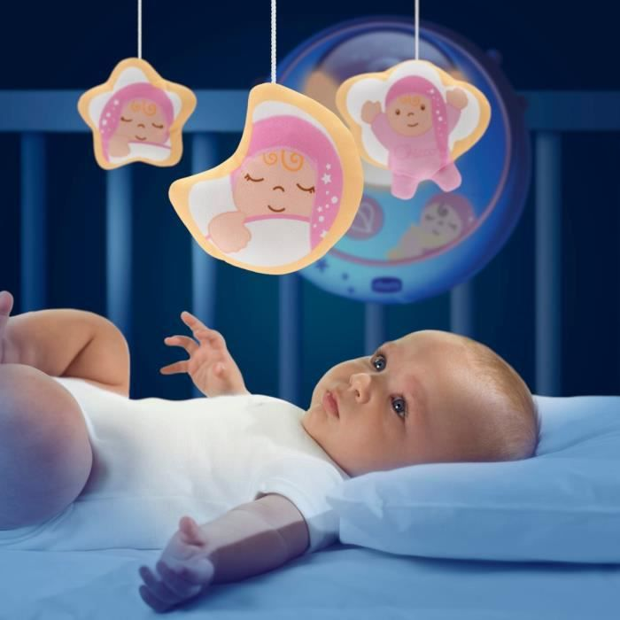 CHICCO Mobile Double Projection Rose First Dreams
