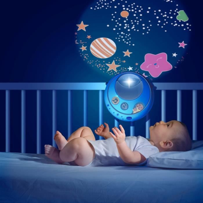CHICCO Mobile Double Projection Bleu First Dreams