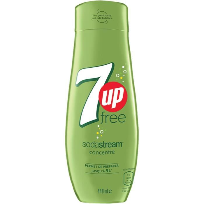 SODASTREAM Concentrate 7UP FREE 440ml