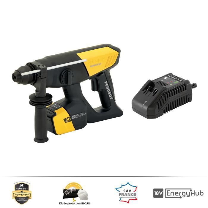 PEUGEOT TOOLS Trapano a percussione Energypunch-18VBL