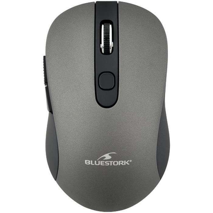 Mouse wireless - 2,4 GHz - 6 pulsanti - Grigio