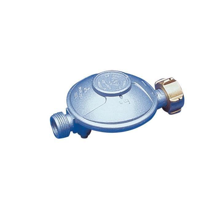 DIPRA Regolatore di sicurezza butano NF 1,3 kg / h - dado bottiglia 28 mbar M20 / 150