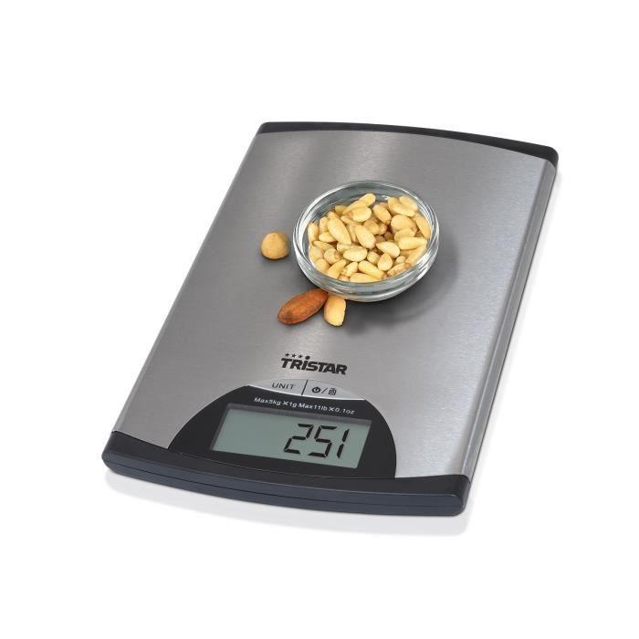 TRISTAR KW-2435 Bilancia da cucina - Acciaio inossidabile