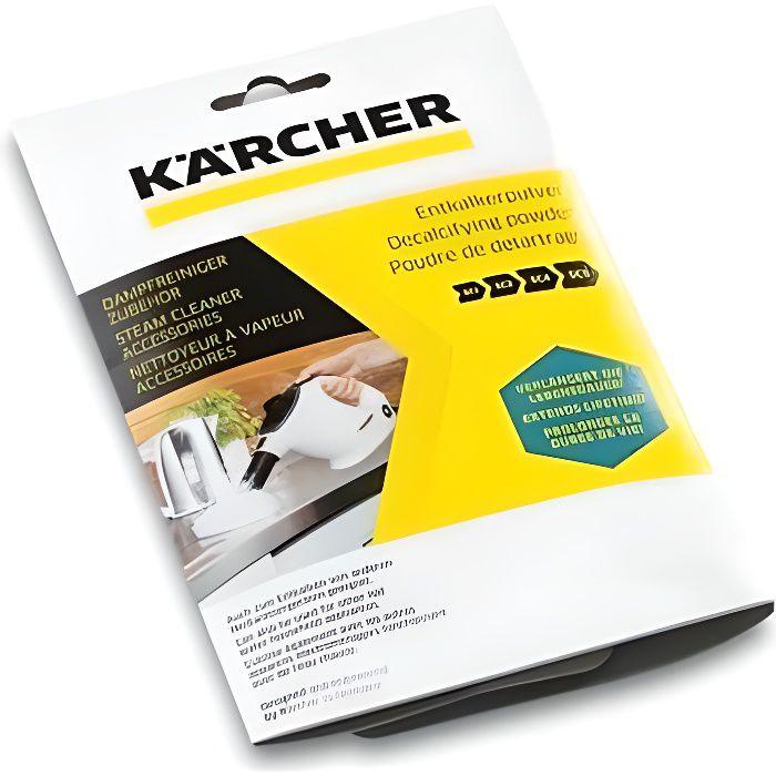 KARCHER Lotto di 6 bustine di polvere decalcificante