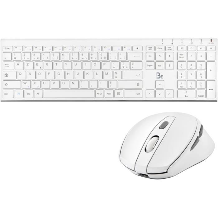 Pacchetto wireless ultra sottile - Dongle singolo per mouse e tastiera