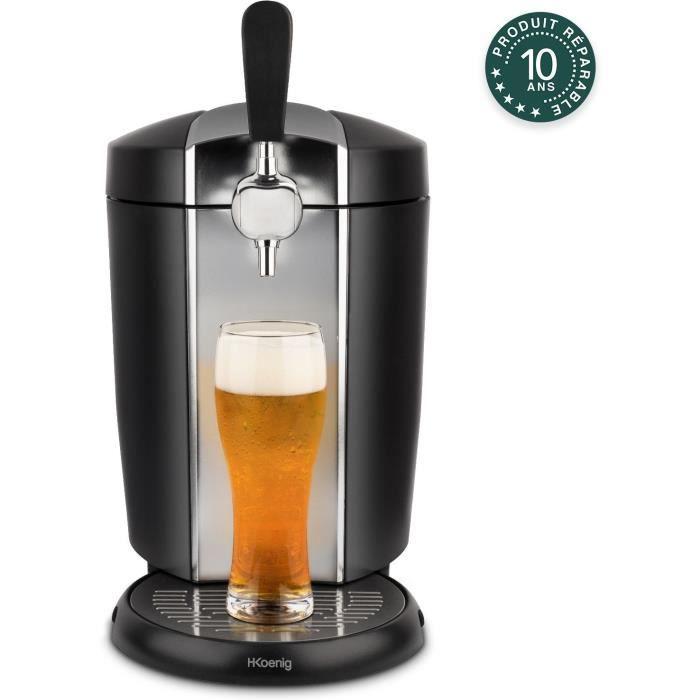 H.KOENIG BW1778 - Distributore di birra - Compatibile con fusti da 5 L (HEINEKEN) - Acciaio inossidabile