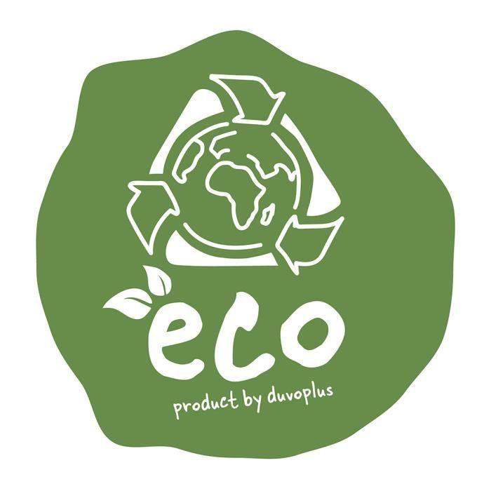 DUVO+ Romeo Eco Bac a litiere 57 x 39 x 41 cm - 1,195 kg - Vert - Pour chat