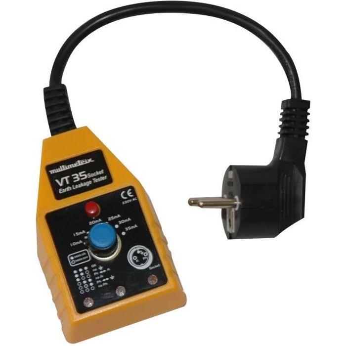 MULTIMETRIX VT35 Tester per prese 10-30 mA