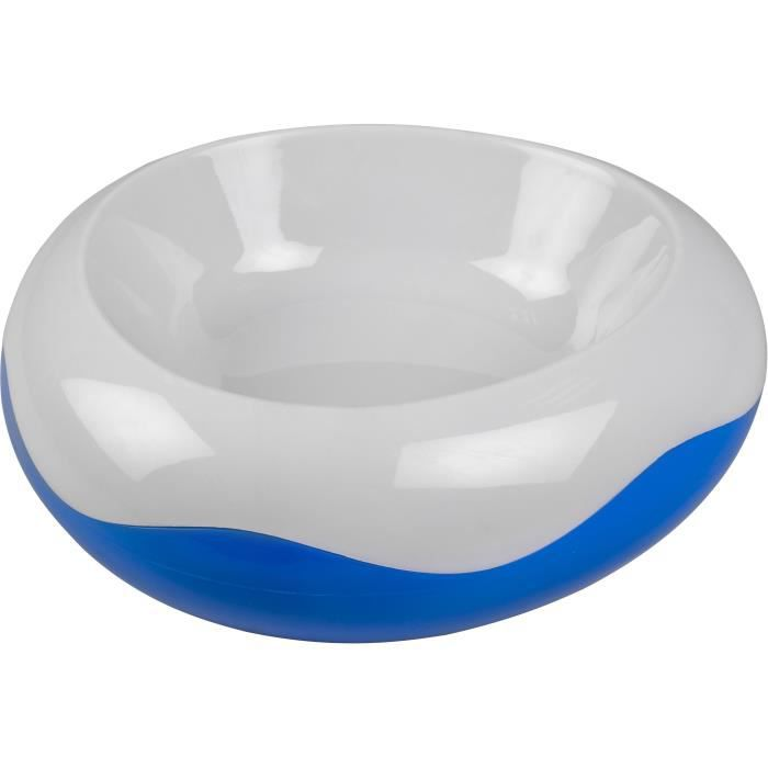 Duvo+ Chien Bol De Refroidissement blanc/bleu 29x29x9,5cm 1,122Kg