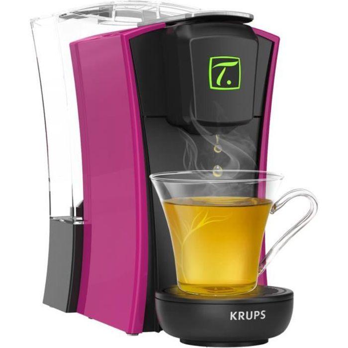KRUPS YY4123FD Macchina da tè a capsule Special T MINI.T - Fucsia