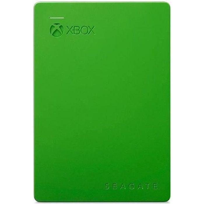 SEAGATE - Disco rigido esterno per giochi Xbox - 2 TB - USB 3.0 - Verde
