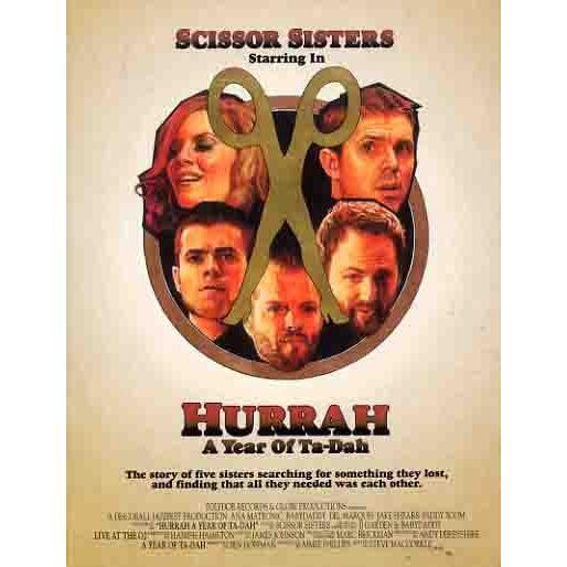 DVD Scissor Sisters - Hurrah, a Year of Ta-Dah + 1 CD audio