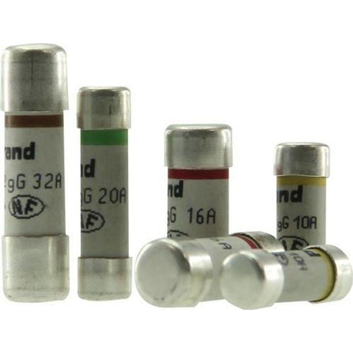 LEGRAND 6 cartucce di fusibili per scheda abbonati EDF senza spia