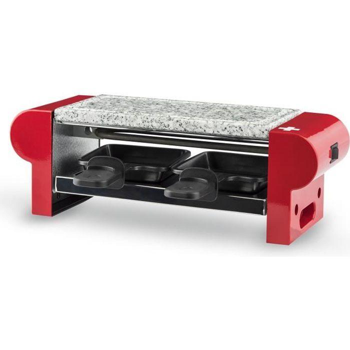 H.KOENIG RP2 - Raclette e pietra refrattaria per 2 persone