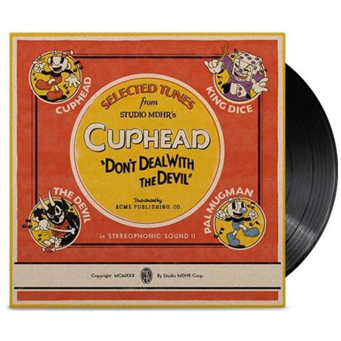 Vinyle BO - CUPHEAD