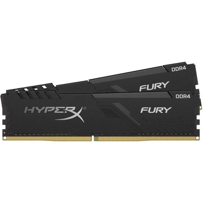 HYPERX FURY - RAM PC Mémoire - 32Go (2x16Go) - 3000MHz - DDR4 - CAS16 (HX430C16FB4K2 / 32)