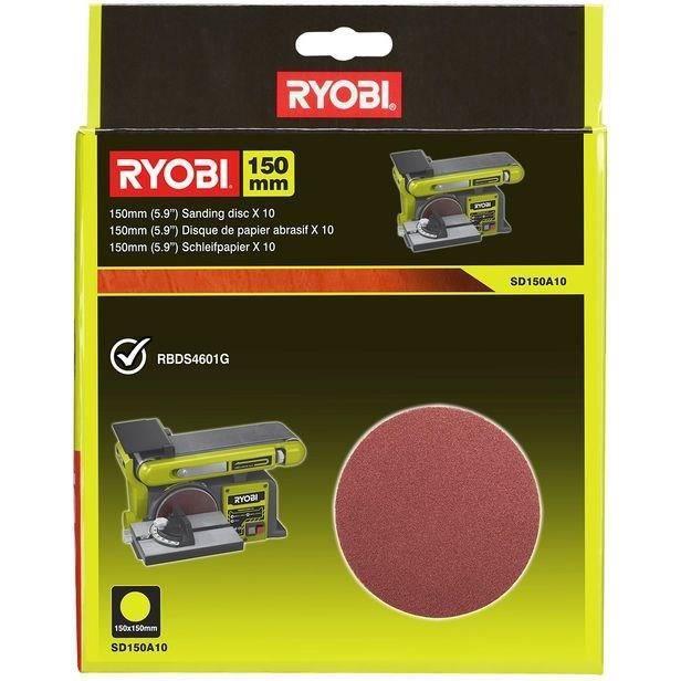 Disco abrasivo RYOBI 10 150mm autobloccante