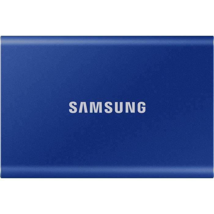 SSD esterno SAMSUNG T7 USB tipo C colore blu 500 GB