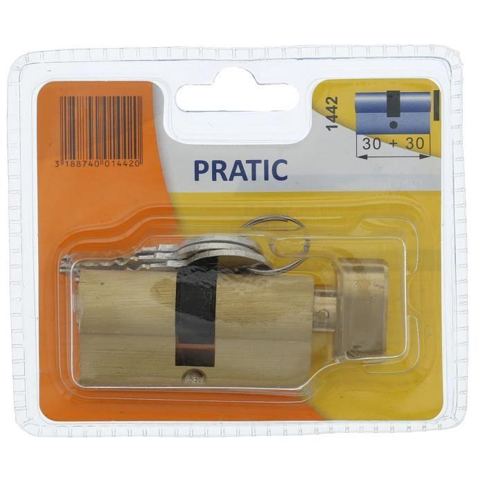 BRICARD PRATIC 1442 Cilindro in ottone 30 30 mm con pomolo / livello di sicurezza 1