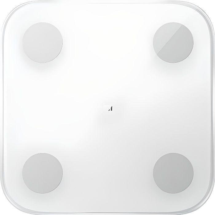 XIAOMI Mi Body Composition Scale 2 Bilancia pesapersone in vetro - Bianco