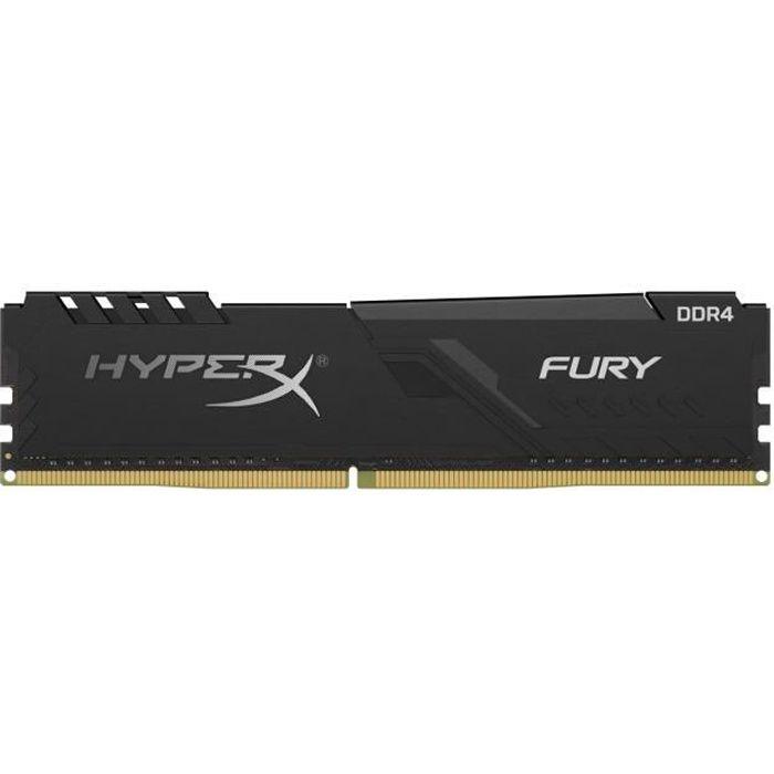 HYPERX FURY - RAM PC Mémoire - 8Go (1x8Go) - 2400MHz - DDR4 - CAS15 (HX424C15FB3 / 8)