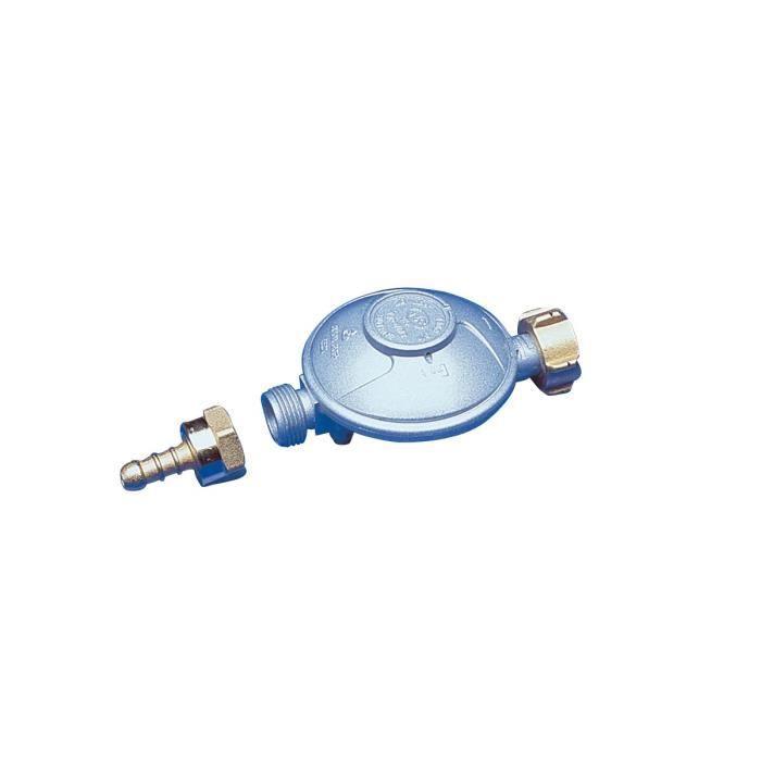 DIPRA Erogatore butano Attacco tettarella NF 1.3kg / h - 28mbar - Dado bottiglia