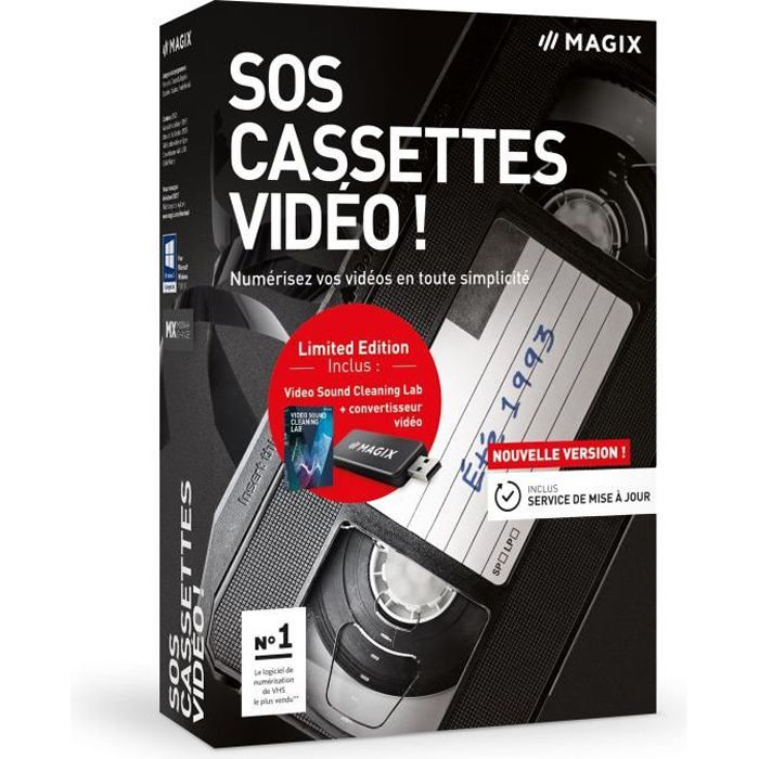 Besole000 SOS software Videocassette! - Scatola - FR