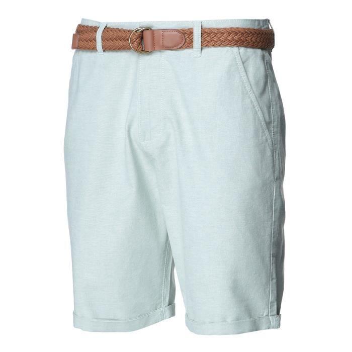 Bermuda chino da uomo con cintura S