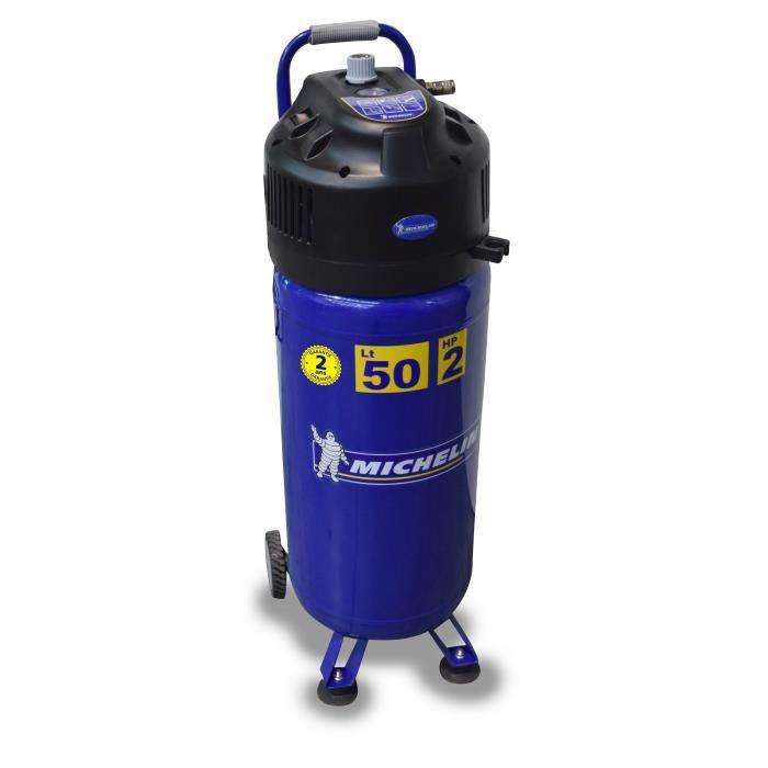 Besole000 Compressore verticale MXV50-2 - 50L - 2 HP - 8 bar - esente da manutenzione (olio)