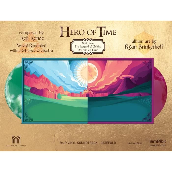 Vinyle BO - HERO OF TIME (MUSIC FROM THE LEGEND OF ZELDA: OCARINA OF TIME)
