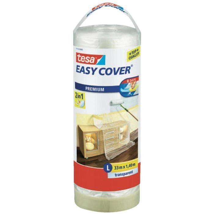 Besole000 Easy Cover Premium L rotolo di pellicola protettiva, (telone per mascheratura) - 33 mx 1400 mm