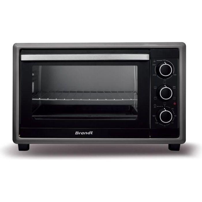 BRANDT FC21MUB Mini forno multifunzione - 21L - 1380W - Nero - Libera installazione