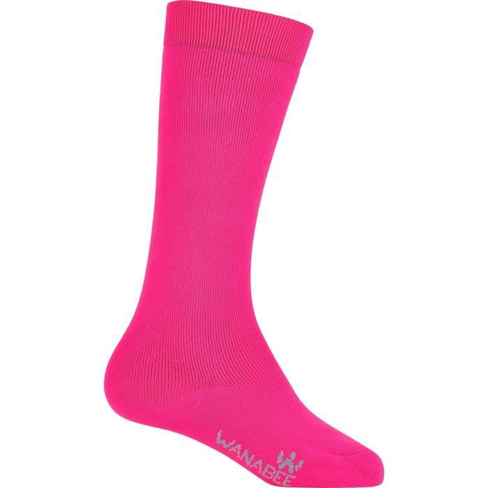 Chaussettes X2 F Rose &  19/22